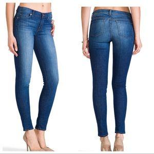 J BRAND Mid Rise Skinny Jeans in Karma 26